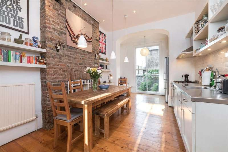 2 Bedrooms Maisonette Flat for sale in Westbourne Road, London