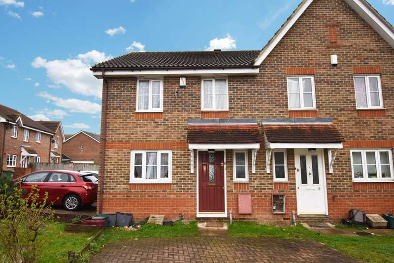 3 Bedrooms Semi Detached House for sale in Troon Close London SE28
