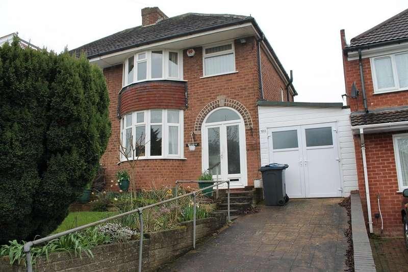 3 Bedrooms Semi Detached House for sale in Millfield Road, Handsworth Wood, Birmingham, B20 1ED