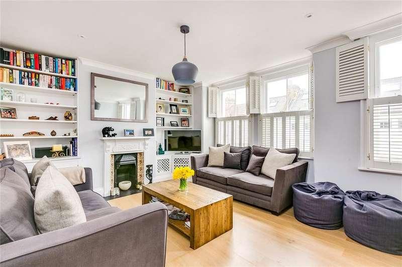 2 Bedrooms Maisonette Flat for sale in Colehill Lane, Munster Village, Fulham, London