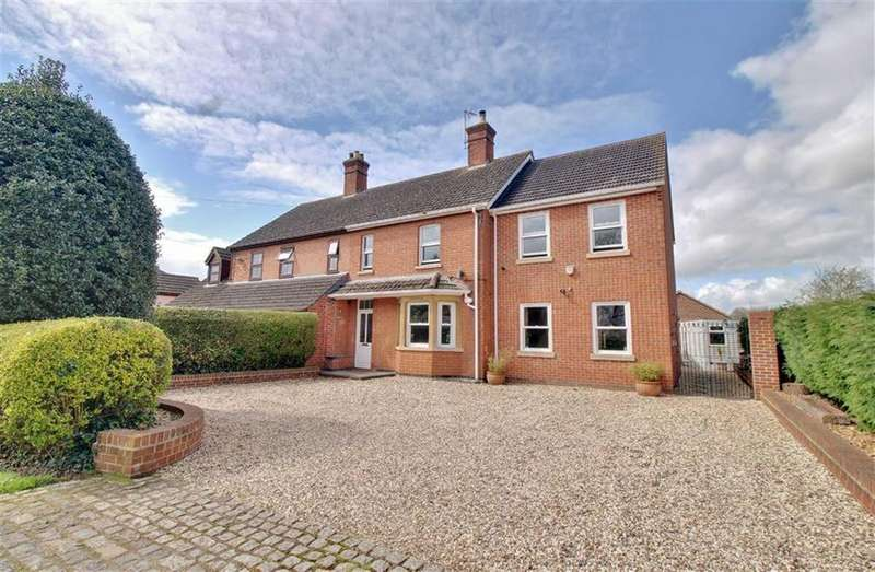 4 Bedrooms Semi Detached House for sale in The Rudge, Maisemore, Gloucestershire