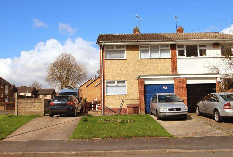 3 Bedrooms Semi Detached House for sale in Overdale Road, Romiley