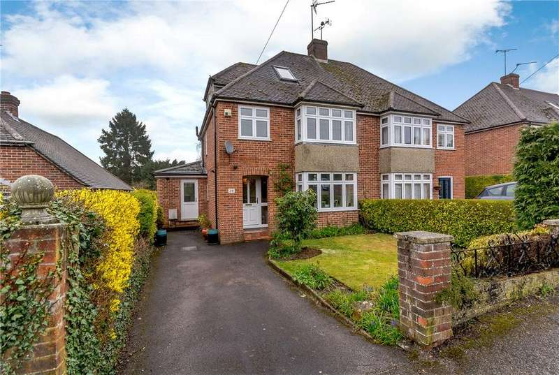 4 Bedrooms Semi Detached House for sale in Montgomery Road, Newbury, Berkshire, RG14