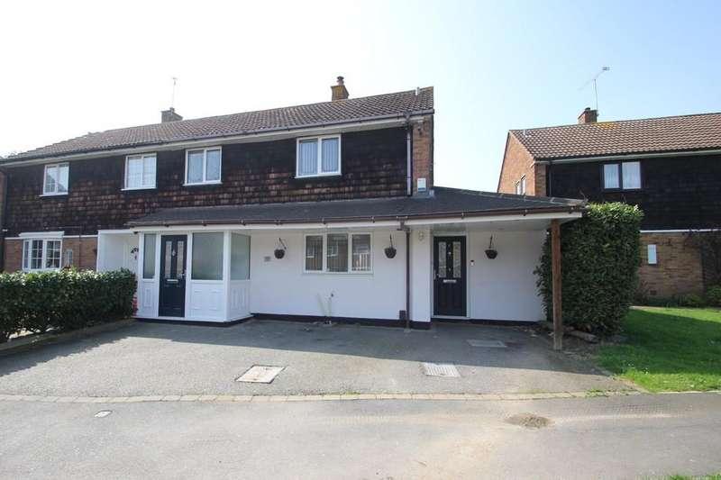 4 Bedrooms Semi Detached House for sale in Wellstye Green, Basildon