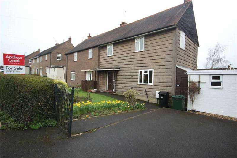 3 Bedrooms Semi Detached House for sale in Clee View, Ludlow, Shropshire, SY8