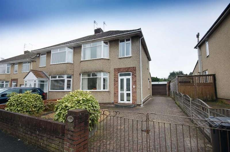 3 Bedrooms Semi Detached House for sale in Quakers Road, Bristol, BS16 6JF