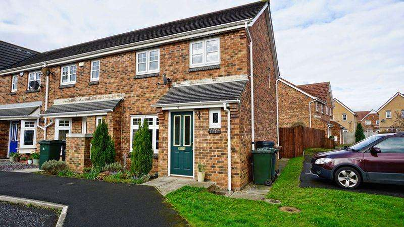 3 Bedrooms Semi Detached House for sale in Thirlwall Court Longbenton