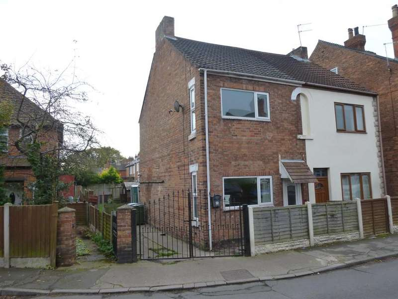 2 Bedrooms Semi Detached House for sale in Grove Lane, Retford, DN22 6NB