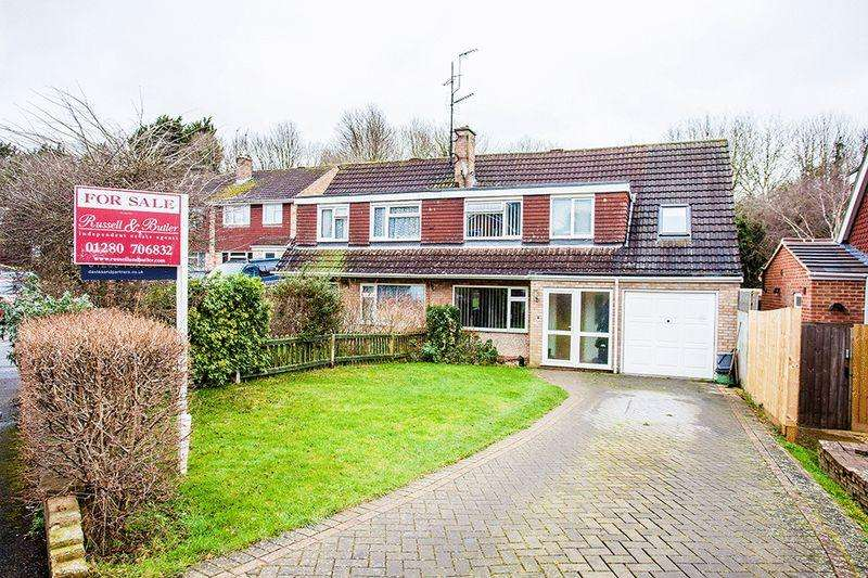 5 Bedrooms Semi Detached House for sale in Valley Road, Brackley
