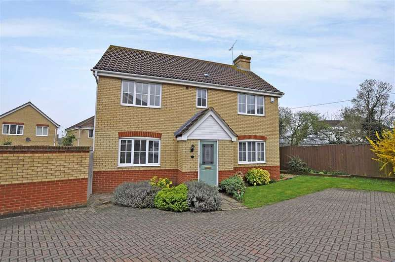 4 Bedrooms Detached House for sale in Gunson Gate, Chelmsford