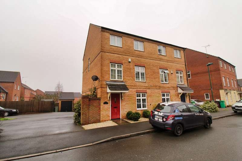 4 Bedrooms Semi Detached House for sale in Pavior Road, Bestwood NG5