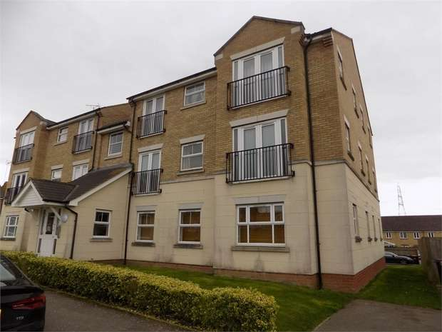 2 Bedrooms Flat for rent in Dimmock Close, Leighton Buzzard, Bedfordshire