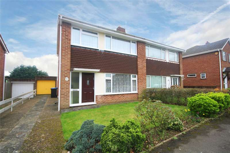 3 Bedrooms Semi Detached House for sale in Wren Crescent, Addlestone, Surrey, KT15
