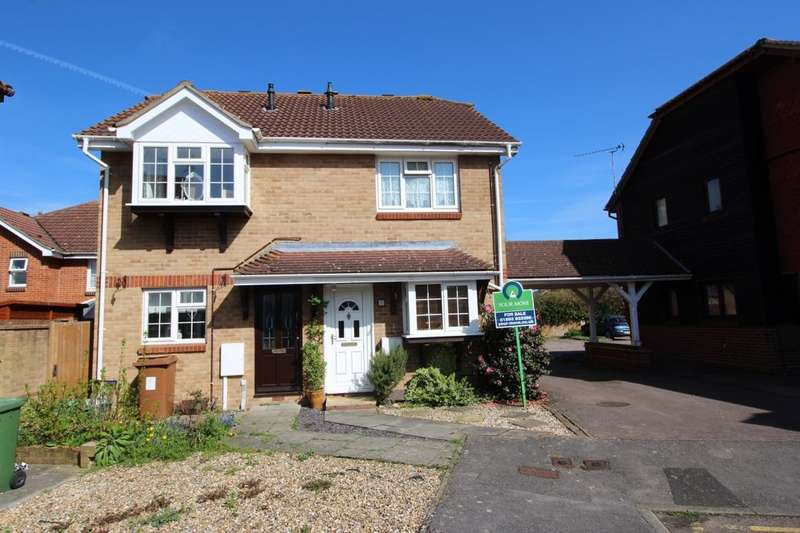 2 Bedrooms Semi Detached House for sale in Forge Way, Paddock Wood, Tonbridge, TN12