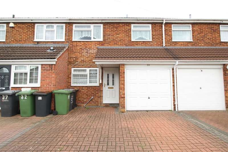 3 Bedrooms Terraced House for rent in Amos Jacques Road, Bedworth, CV12