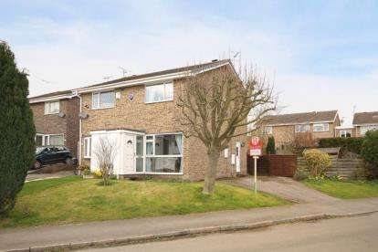 2 Bedrooms Semi Detached House for sale in Buttermere Drive, Dronfield Woodhouse, Dronfield, Derbyshire