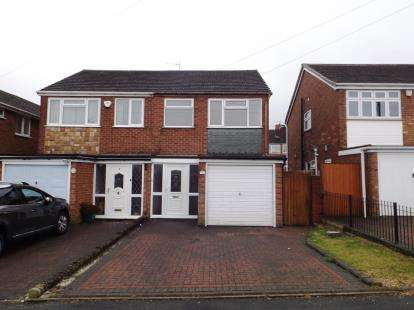 2 Bedrooms Semi Detached House for sale in Lea Green Avenue, Tipton, West Midlands