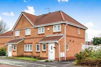3 Bedrooms Semi Detached House for sale in Kerscott Road, Northern Moor, Near Sale, Greater Manchester