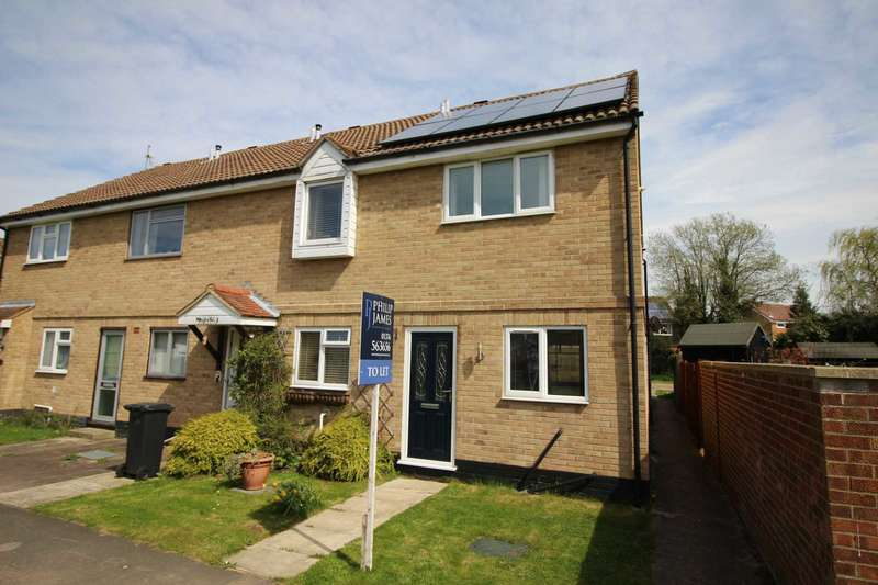 2 Bedrooms Semi Detached House for rent in Hunt Road, Earls Colne
