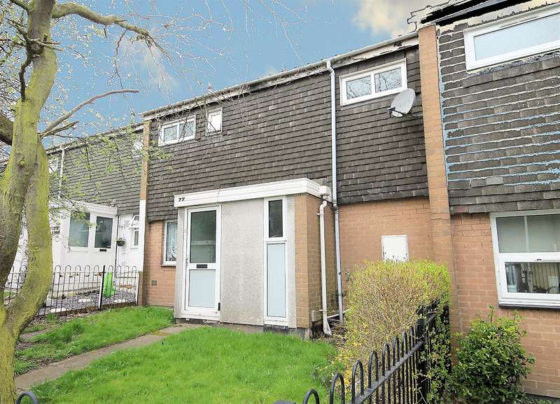 3 Bedrooms Terraced House for sale in Honeybourne, Tamworth, B77 2JG