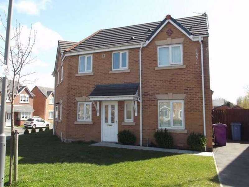 3 Bedrooms Semi Detached House for sale in Papillon Drive, Aintree, Liverpool, L9
