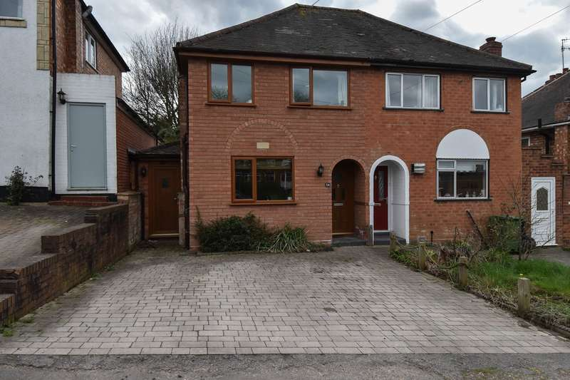 2 Bedrooms Semi Detached House for sale in Stratford Road, Bromsgrove, B60