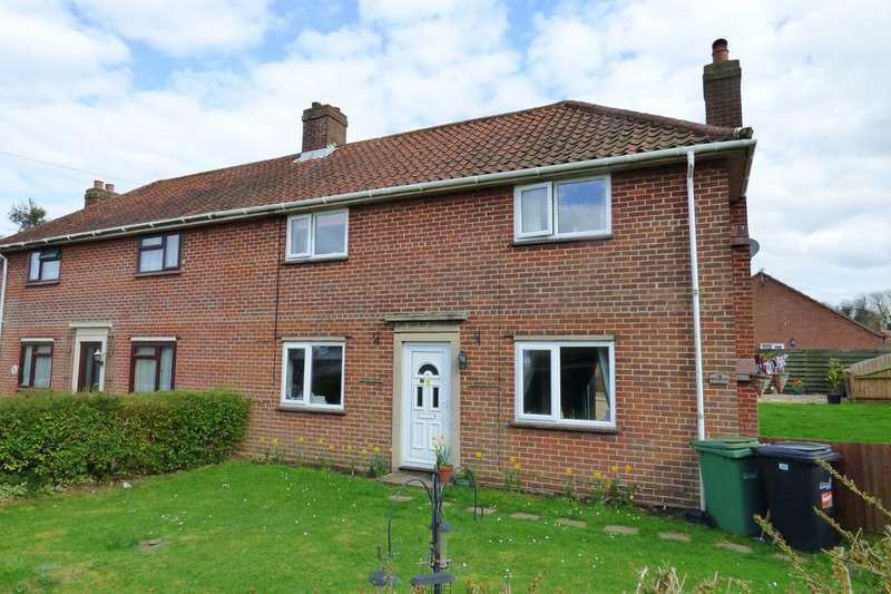 3 Bedrooms Semi Detached House for sale in Manor Road, Long Stratton