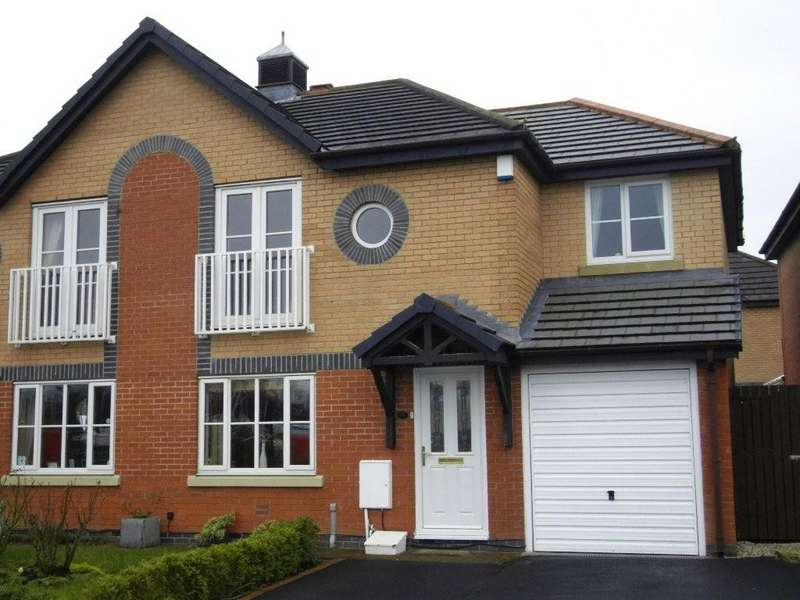 4 Bedrooms Semi Detached House for sale in Maritime Way, Ashton On Ribble