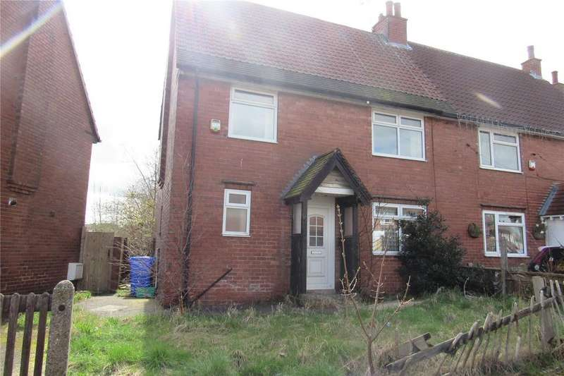 3 Bedrooms Semi Detached House for sale in Alcock Avenue, Mansfield, Nottinghamshire, NG18