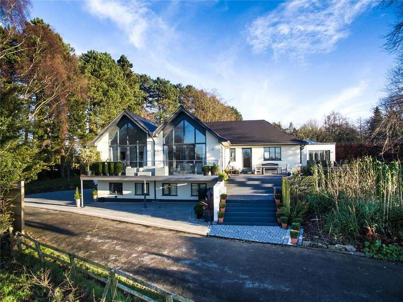 4 Bedrooms Detached House for sale in Wilmslow Road, Mottram St. Andrew, Macclesfield, Cheshire, SK10