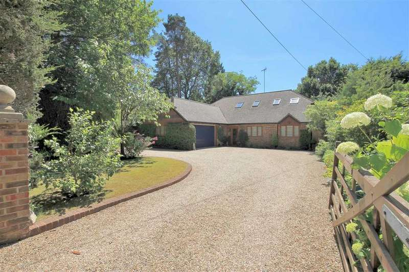 4 Bedrooms Detached House for sale in Pine Cottage, Furze Vale Road, Headley Down