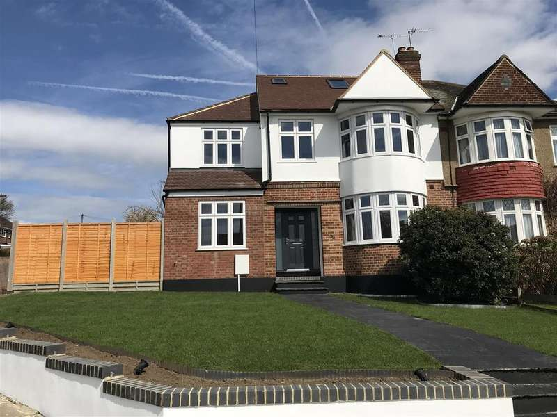 5 Bedrooms Semi Detached House for sale in Brookside South, East Barnet/Southgate Borders