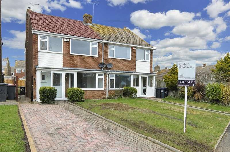 3 Bedrooms Semi Detached House for sale in Long Reach Close, WHITSTABLE, Kent