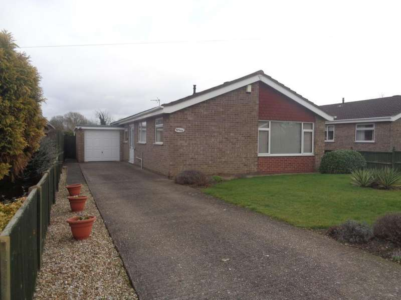 3 Bedrooms Detached Bungalow for sale in Reading Close, Washingborough, Lincoln