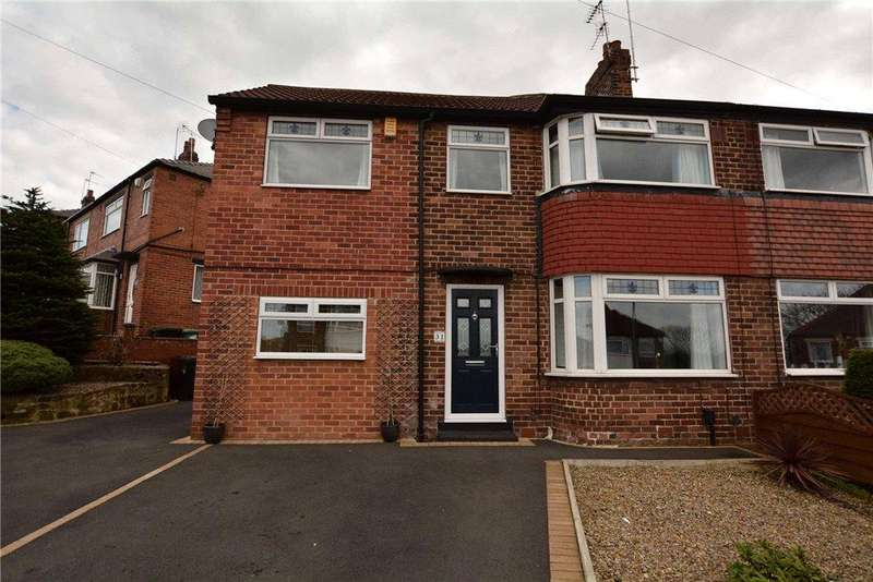 3 Bedrooms Semi Detached House for sale in Calverley Garth, Leeds, West Yorkshire