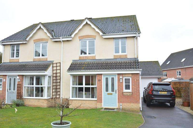3 Bedrooms Semi Detached House for sale in Hibiscus Crescent, Andover