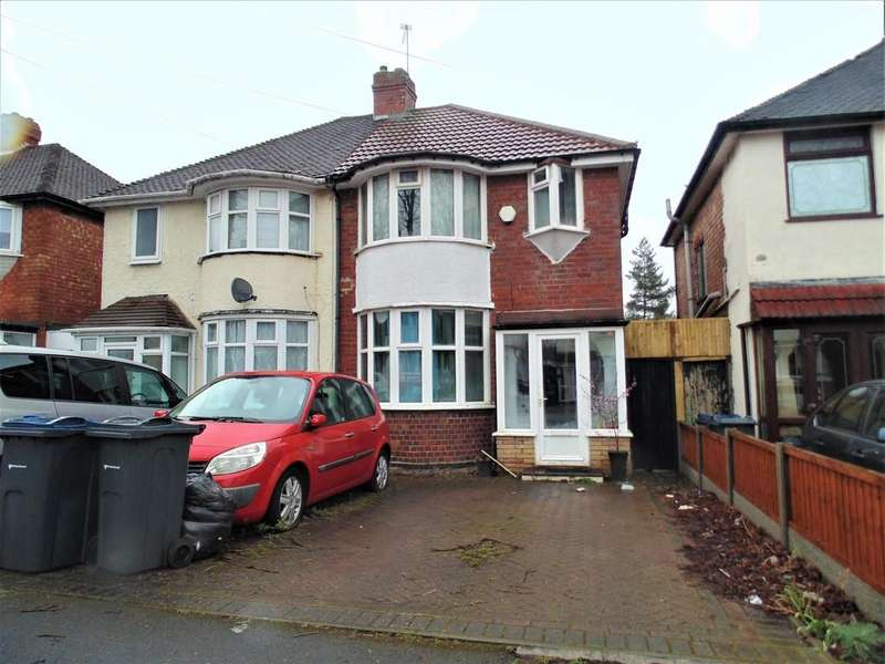 3 Bedrooms Semi Detached House for sale in Glendower Road, Great Barr, Birmingham