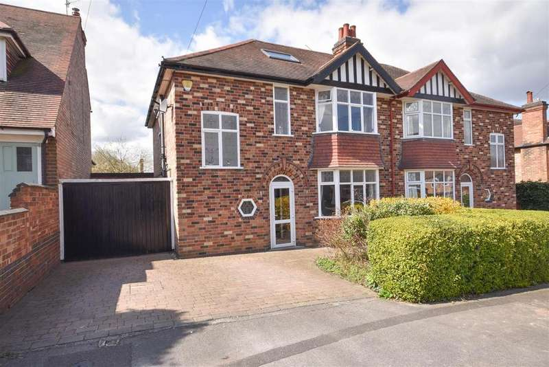 4 Bedrooms Semi Detached House for sale in Villiers Road, West Bridgford, Nottingham