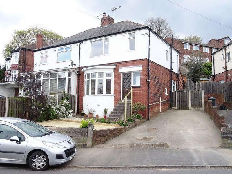 3 Bedrooms Semi Detached House for rent in 3 Greystones Drive, Greystones, Sheffield S11