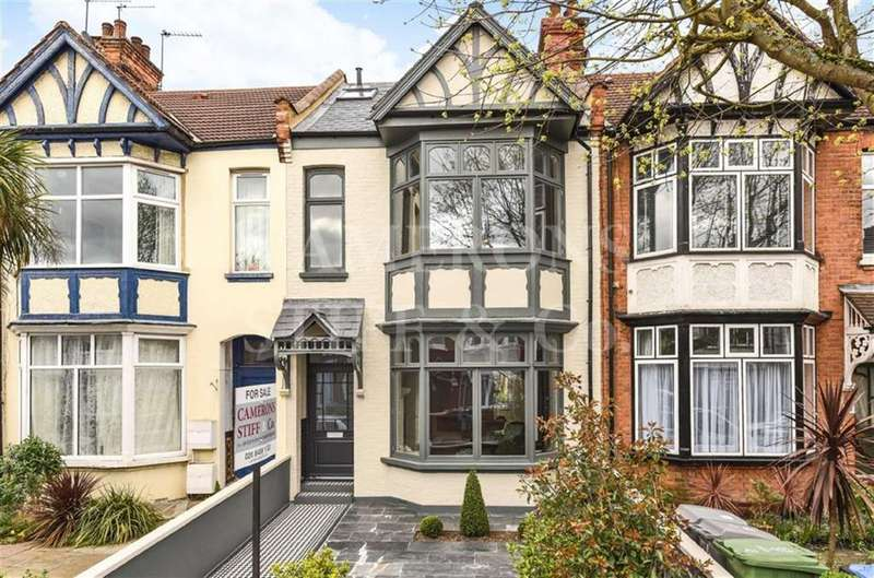 5 Bedrooms Terraced House for sale in Hanover Road, Kensal Rise, London, NW10