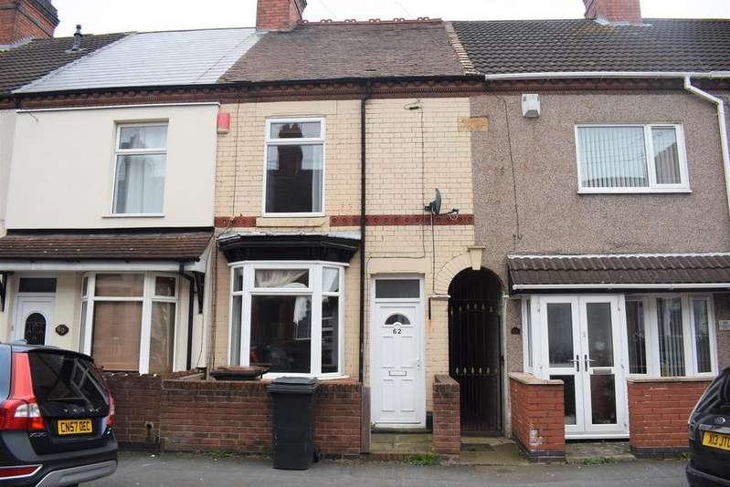 2 Bedrooms Terraced House for sale in Cheverel Street, Coton