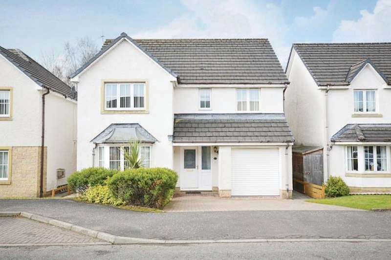 4 Bedrooms Detached House for sale in Clairinsh,Balloch G83 8SE