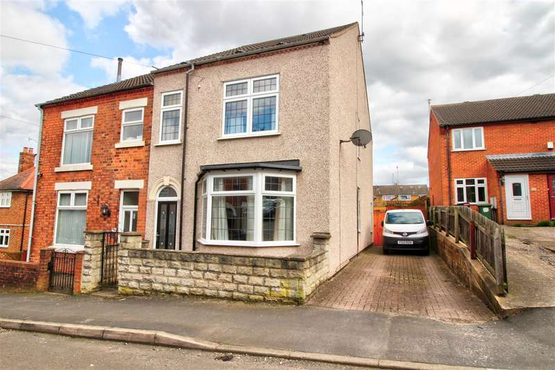 4 Bedrooms Semi Detached House for sale in Milward Road,, Loscoe