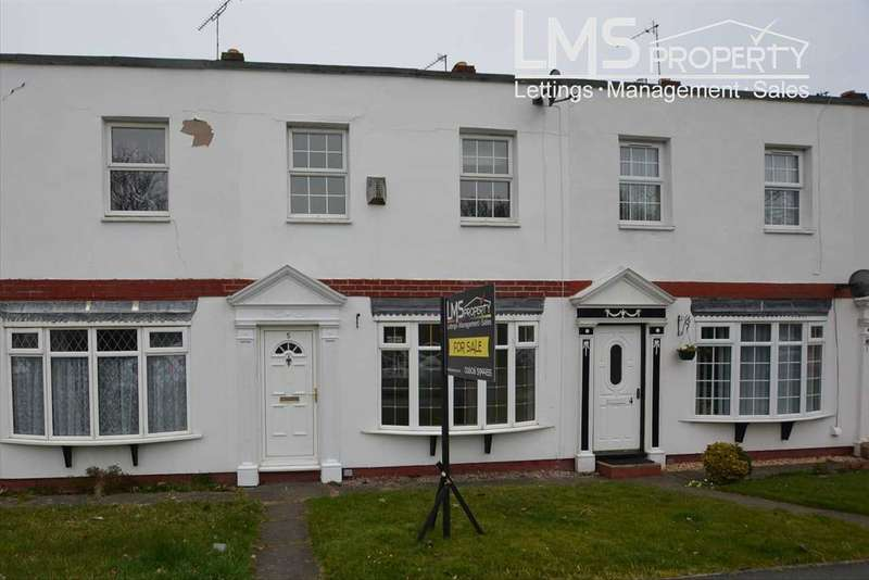3 Bedrooms Terraced House for sale in Handley Hill, Winsford