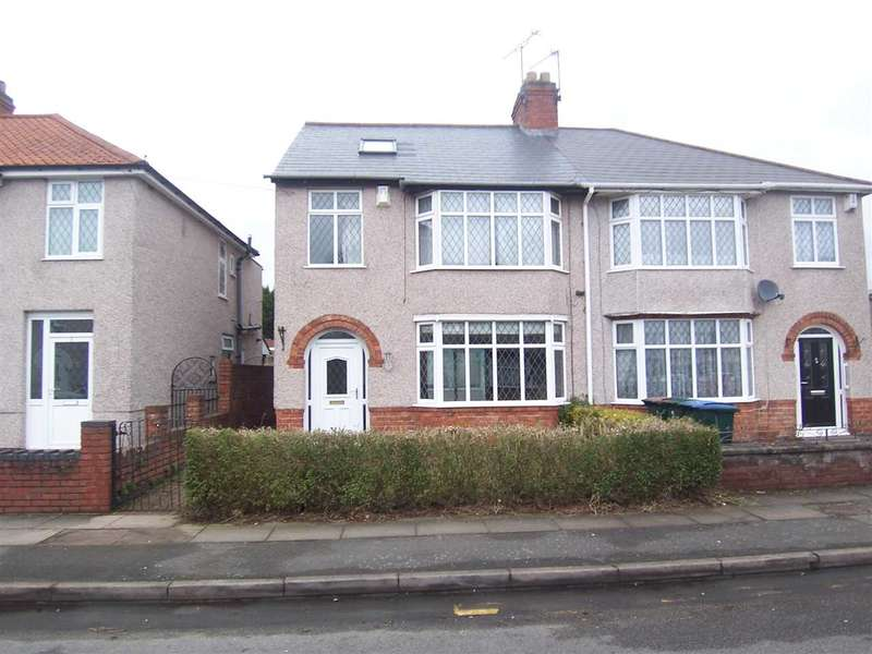 4 Bedrooms Semi Detached House for sale in Balliol Road, Wyken, Coventry