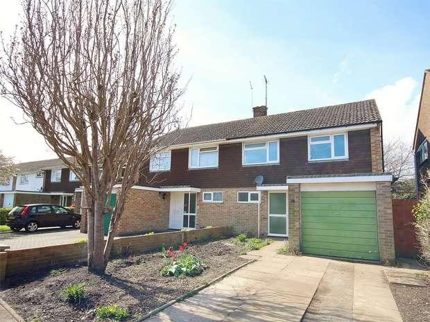 3 Bedrooms Semi Detached House for sale in Bushell Road, Oakdale, POOLE, Dorset