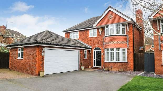 4 Bedrooms Detached House for sale in Merlin Way, Mickleover, Derby