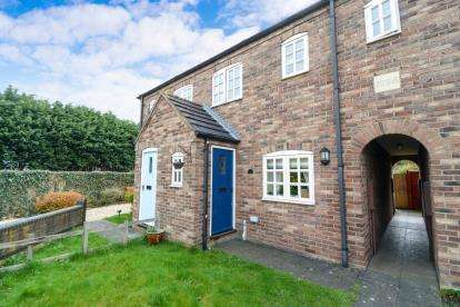 2 Bedrooms Terraced House for sale in Paddock Lane, Metheringham, Lincoln, Lincolnshire