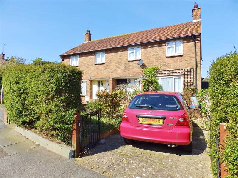 2 Bedrooms Semi Detached House for sale in Avard Crescent, Eastbourne