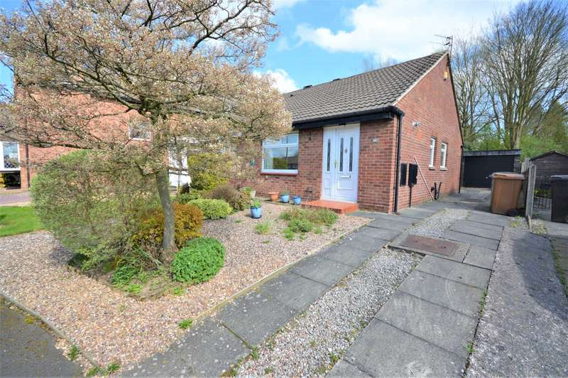 2 Bedrooms Semi Detached Bungalow for sale in Thurlestone Drive, Hazel Grove